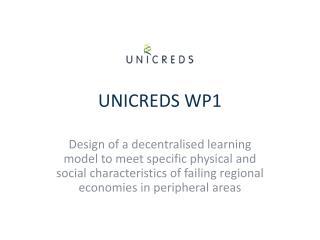 UNICREDS WP1