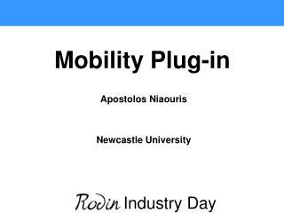 Apostolos Niaouris Newcastle University