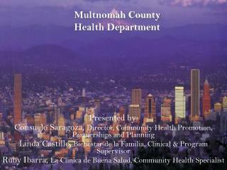 Multnomah County Health Department
