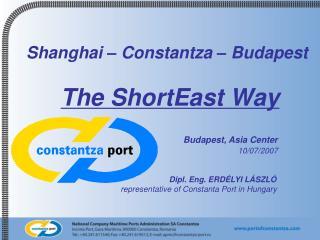 Shanghai – Constant z a – Budapest