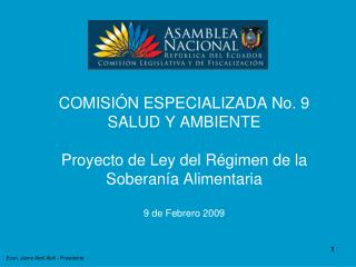 Econ. Jaime Abril Abril - Presidente