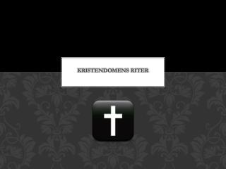 Kristendomens riter