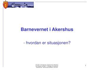Barnevernet i Akershus