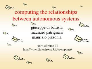 computing the relationships between autonomous systems
