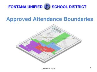 Approved Attendance Boundaries