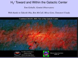 H 3 +  Toward and Within the Galactic Center