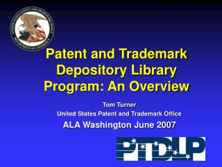 Patent and Trademark  Depository Library Program: An Overview