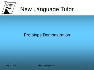 New Language Tutor