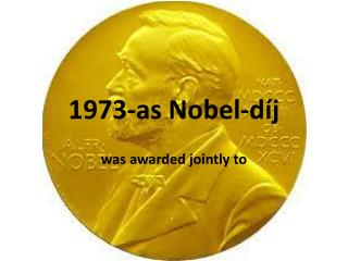 1973-as Nobel-díj