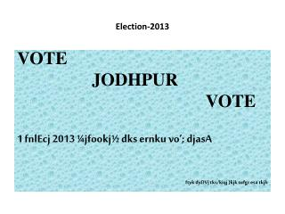 Election-2013