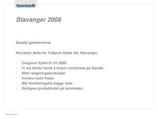Stavanger 2008