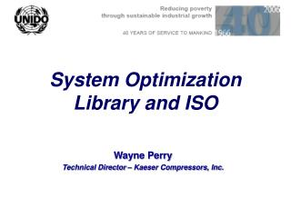 System Optimization  Library and ISO