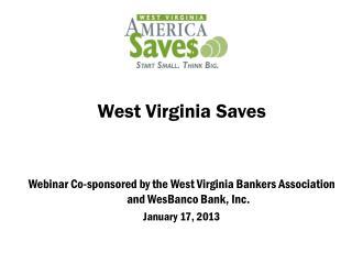 West Virginia Saves