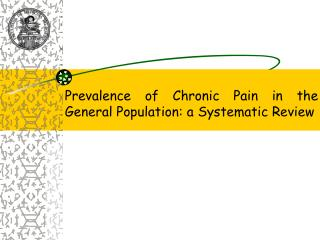Prevalence of Chronic Pain in the General Population: a Systematic Review
