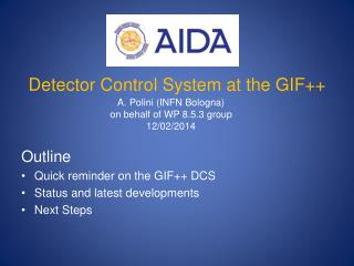 Detector Control System at the GIF++