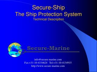 Secure-Ship The Ship Protection System Technical Description