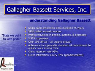 Gallagher Bassett Services, Inc.