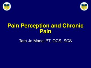 Pain Perception and Chronic Pain