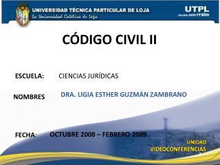ESCUELA:          CIENCIAS JUR�DICAS