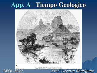 App. A    Tiempo Geologico