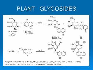 PLANT   GLYCOSIDES