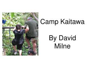 Camp Kaitawa By David Milne