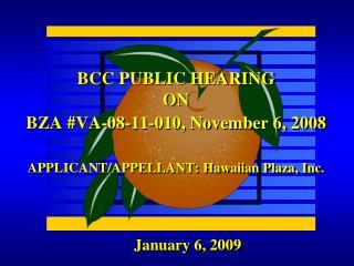 January 6, 2009