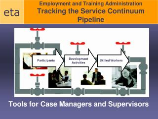 Employment and Training Administration Tracking the Service Continuum Pipeline
