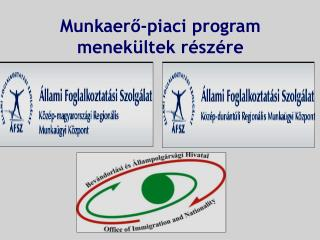 Munkaer?-piaci program menek�ltek r�sz�re