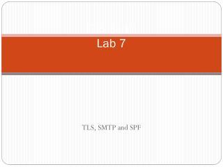 ITIS 3110 Lab  7