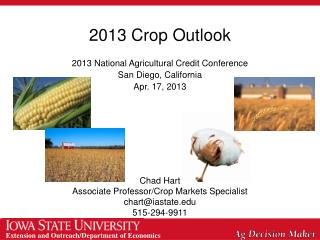 2013 Crop Outlook