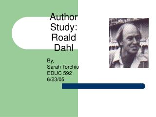 Author Study: Roald Dahl