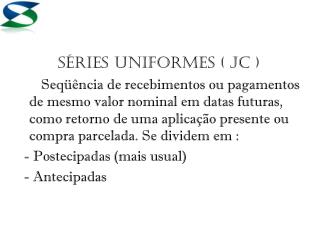 Séries Uniformes ( JC )