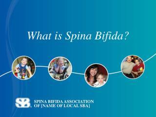 SPINA BIFIDA ASSOCIATION  OF [NAME OF LOCAL SBA]