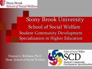 Stony Brook University School of Social Welfare