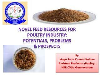 By  Naga  RaJa Kumari Kallam Assistant Professor (Poultry) NTR  CVSc , Gannavaram