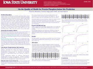 Artificial Intelligence Research Laboratory Bioinformatics and Computational Biology Program