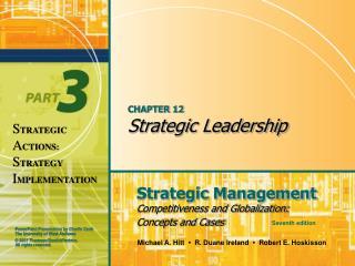 CHAPTER 12 Strategic Leadership