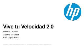 Vive tu Velocidad 2.0