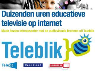 Duizenden uren educatieve televisie op internet