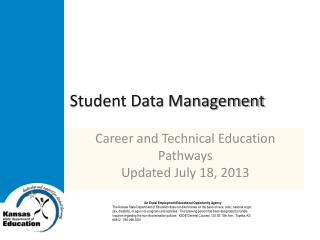 Student Data Management