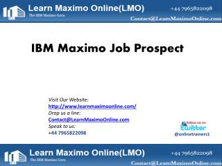 Average Salary for IBM Maximo Professionals_LMO