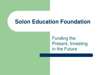 Solon Education Foundation
