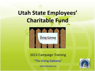 Utah State Employees' Charitable Fund