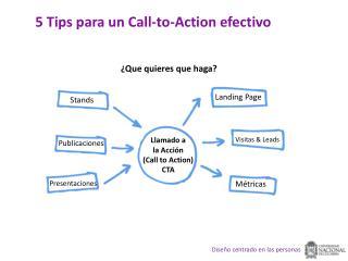 5 Tips  para  un Call-to-Action  efectivo