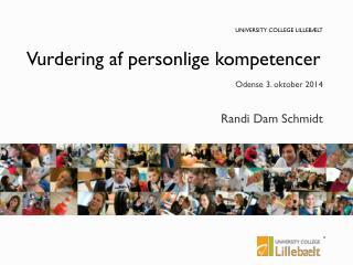 Vurdering af personlige kompetencer