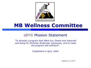 MB Wellness Committee