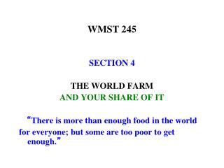 WMST 245