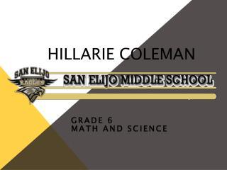 Hillarie Coleman