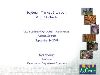 Soybean Market Situation  And Outlook